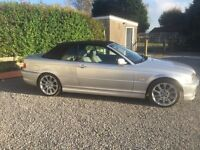 bwm bmw 318ci m-sport kit automatic convertible in great condition with all the extras