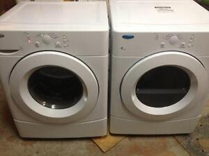 68- WHIRLPOOL  Laveuse Secheuse Frontale Frontload Washer Dryer