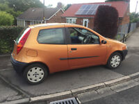 02 plate fiat punto 1.2 city button,oct m-o-t,ideal first car £325 ovno