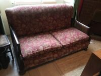 Edwardian Vintage Sofa - with down cushions