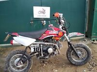 X sport road legal pit bike