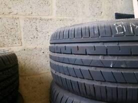 2x 245 45 r19 2x 255 40 r19 tyres