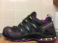 Ladies Salomon XA3D Ultra Trail Running Shoes Size 6