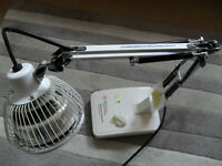 BIOlamp. Portable Thermal Mineral Heat Lamp for arthritic type pains. Hardly used.