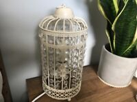 WhiteLampshade and matching table lamp