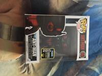 ant-man 2015 exclusive masked funko pop new rare