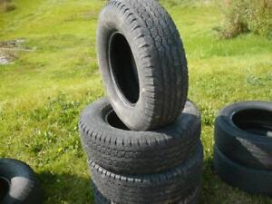 Four 255-70-16 tires  $120.00