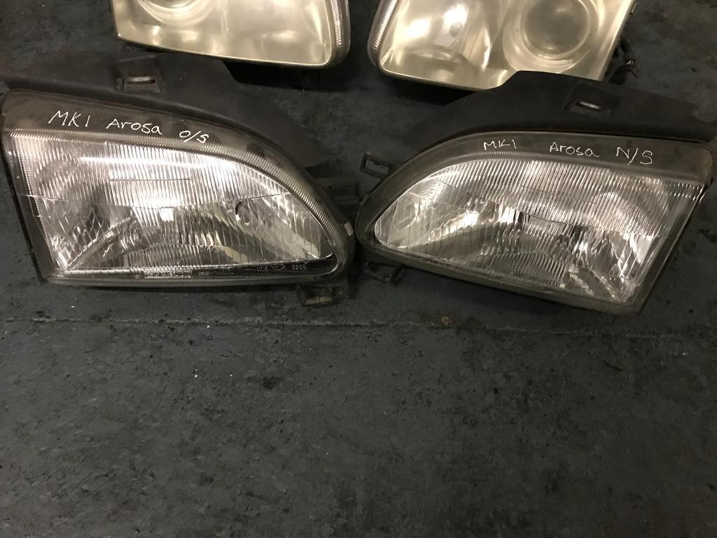Mk1 arosa headlights