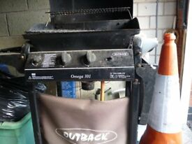 BARBECUE for sale gas bbq with side burner