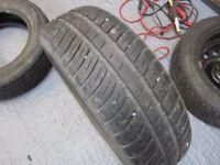 Goodyear tyre part worn 175/65/14 5mm tread left