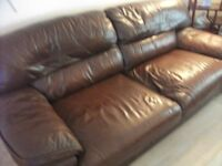 Leather Sofas also have double sofa bed excellent condition smoke free home