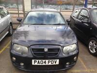 Black 2004 MG ZT 2.0 Diesel, SAT-NAV spares or repair £450