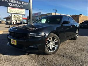 2015 Dodge Charger SXT AWD NAVIGATION LEATHER MOON ROOF