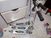 3 identical aluminium quick step scooters all good condition not used much