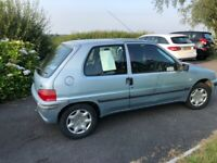Peugeot, 106, Hatchback, 2002, Manual, 1124 (cc), 3 doors
