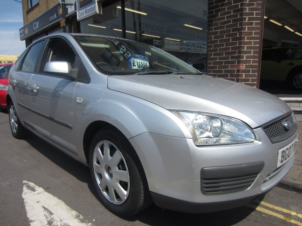 FORD FOCUS 1.6 LX 5dr Auto (silver) 2007