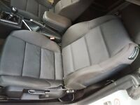 Audi A4 Sline Convertible Cabriolet Recaro Inflatable Adjustable Seats