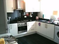 A large bright double room available to let (for one only) in this friendly house share
