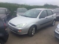 FORD FOCUS ZETEC FAMILY OWNED FOR 10 yrs LOVELY DRIVING FAMILY CAR IN VGC ULTRA RELIBLE PX WELCOME