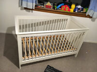 Childs Cot & Bed- good condition