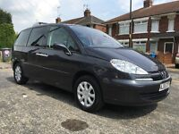 2005/55 Peugeot 807 HDI Executive, 6 Speed Manual Gearbox, 7 Seats, 1 Previous Owner, Hpi Clear