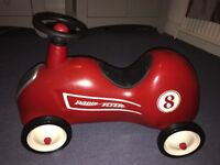 Radio Flyer Little Red Roadster. Excellent condition. Barely used. No bumps or scratches.
