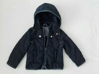 Classic Zara quilted coat - 2-3 years