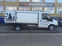 breaking for spares ford transit MK6 350 2.4tdi RWD twin axle/engine/gearbox/fuel pump/diff/prop/