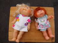 A PAIR Of Collectable Cabbage Patch Kids Dolls