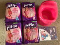 Huggies Pull-Ups and potty