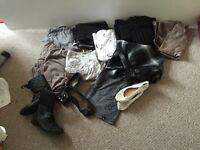 Bundle of women clothes size 16-18 shoes size 4!!!