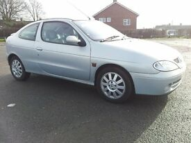 2001 renault megane coupe 1.6 only 45k miles cambelt done drives like new mint condition all round