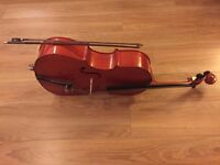 CELLO 1/4 size Excellent Learning Instrument For Sale