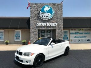 2012 BMW 1 Series WOW TOP DOWN SUMMER FUN!  FINANCING AVAILABLE!