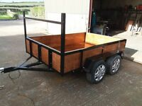 8FT X5FT TWIN AXLE TRAILER