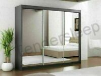 ⚡⚡⚡DISCOUNTED OFFER⚡⚡⚡BEST SELLING LUX HIGH GLOSS TRIPLE LARGE 3 DOORS WARDROBE SAME DAY ARRIVED