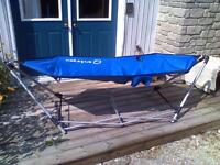 Hammock and stand/CONDITIONALLY SOLD July 28