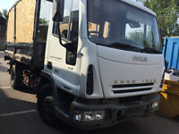 7.5 ton tipper iveco no VAT good driver great truck LEYLAND DAF FORD IVECO EURO CARGO