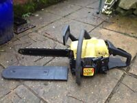 McCulloch petrol chainsaw. Good working order.
