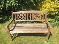 Lovely Wooden Garden Bench
