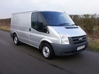 2010 FORD TRANSIT 85 T260S SILVER 2 OWNERS FROM NEW 99,000 MILES VERY CLEAN VAN