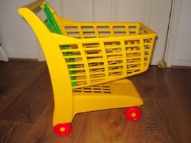Baby Shopping Trolley Walker RRP9.99