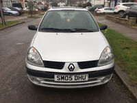 renault clio 1.4 16V Expression 5dr Automatic