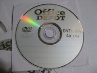 15 DVD+RW rewritable 4.7GB discs