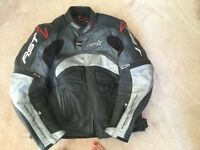 RST armoured jacket and trousers