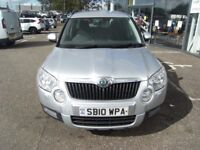 2010 10 SKODA YETI 2.0 SE TDI CR 4X4 5D 140 BHP **** GUARANTEED FINANCE **** PART EX WELCOME ****