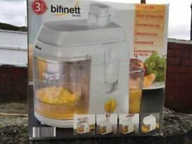 Bifinett fruit extractor