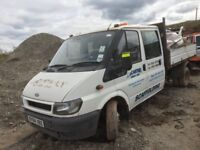 Ford transit double cab breaking spare parts available