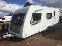 elddis avante 576 6 berth with bunks 2015 caravan with motor mover