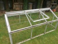 Aluminium Cold Frame with vent for sale
